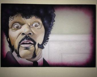 Pulp Fiction canvas
