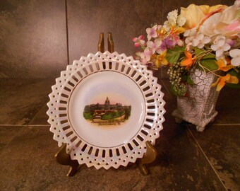 Pennsylvania State Capitol Collectible Plate