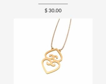 Adinka Symbol Necklace