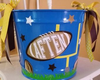 10 Quart Personalized Bucket  / Easter Bucket / Beverage Pail / Gift Basket