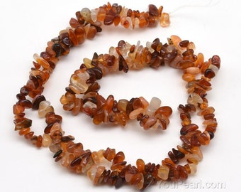 Carnelian beads, 5-7mm chips, red agate, carnelian gem stone, genuine stone beads, loose stone jewelry beads for laides necklace, CNL4010