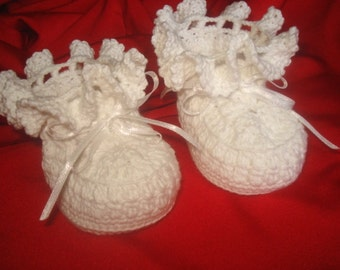 Baby Crochet  Baby Booties Pattern Crochet Baby/child's loafers Booties shoes -Girl/Toddler/Child Newborn to 6 months.