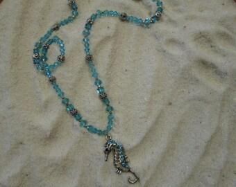 Turquoise Seahorse