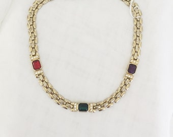 Gems of Color Necklace