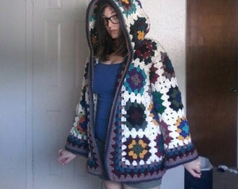 Made to order granny square jacket