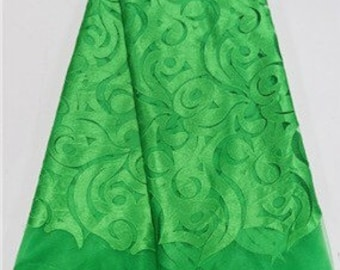 Green Tulle Lace