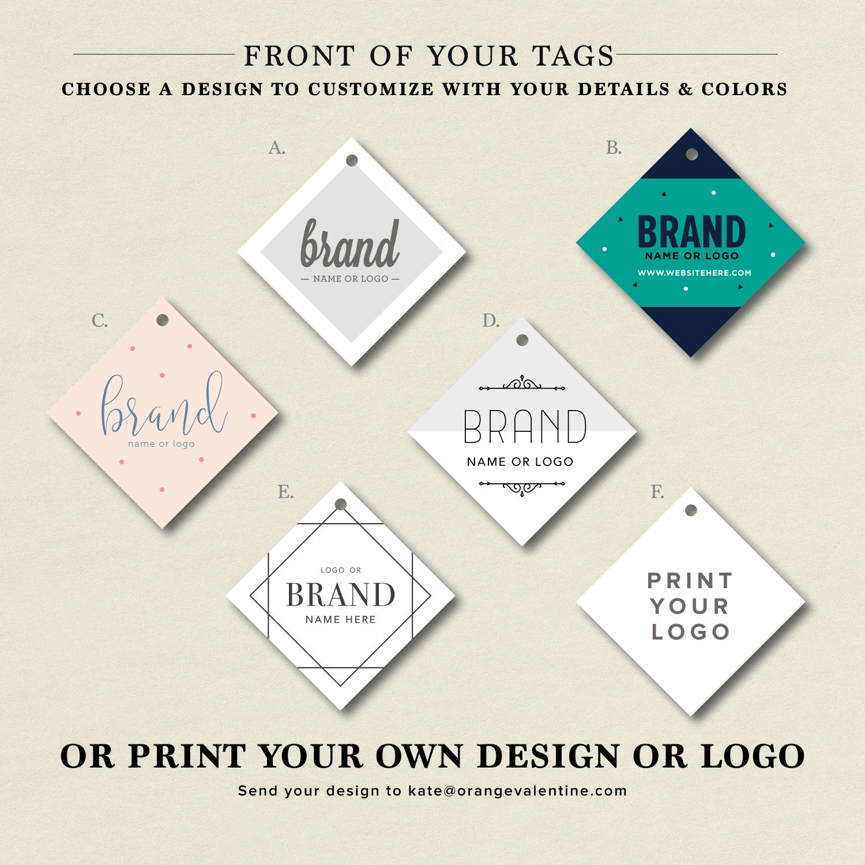 Custom Brand Tag Branding Label Custom Brand Label