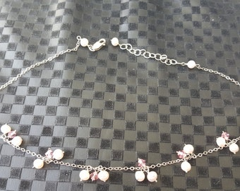 "Pretty 16"" Sterling Silver Necklace"