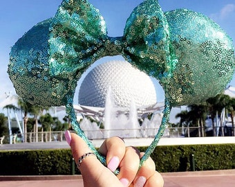 Mint Julep Minnie Ears!