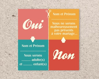 Coupon response marriage - the Picto