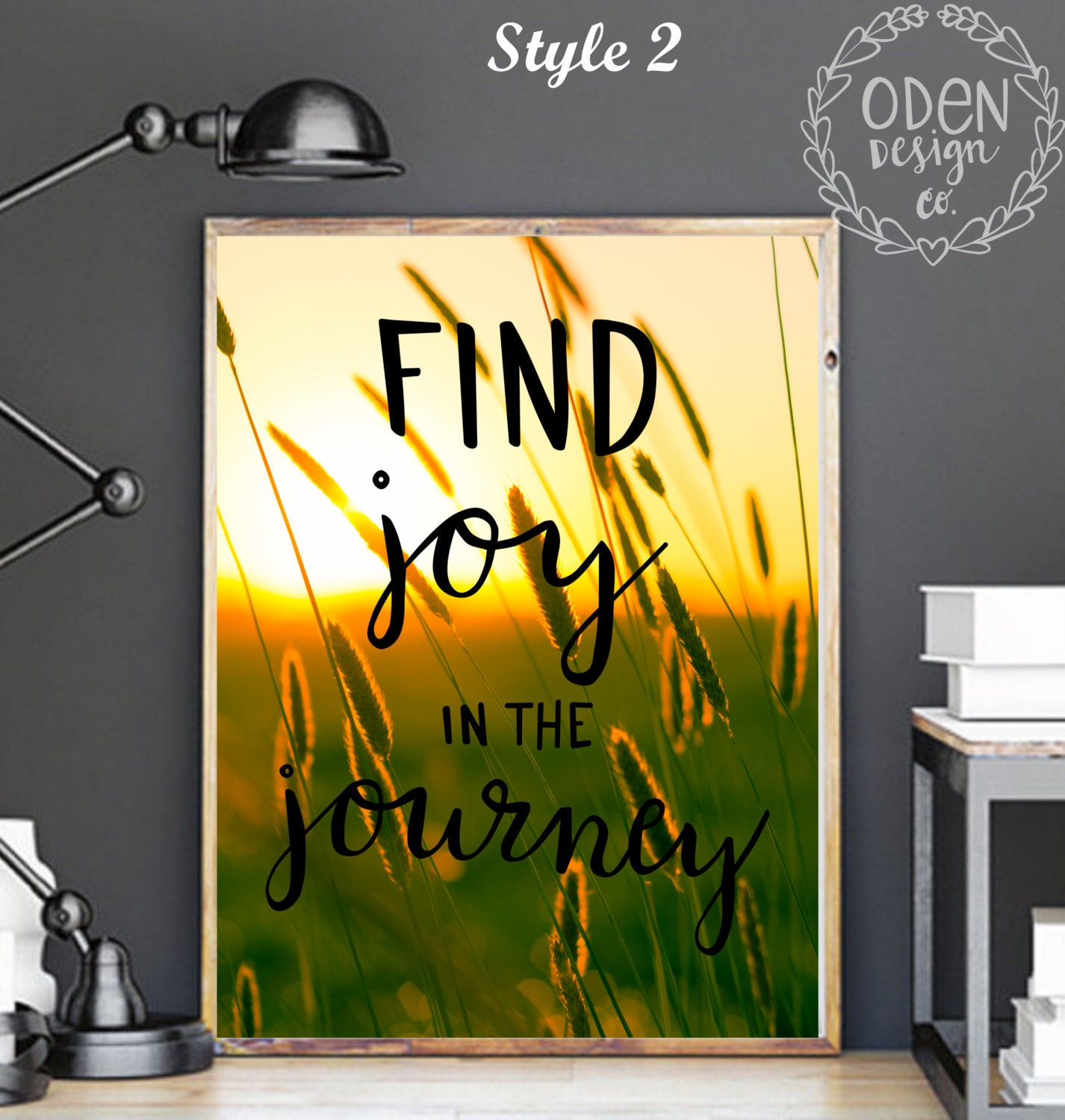 Travel Quote Find Joy in the Journey Home Decor Poster, Wanderlust ...