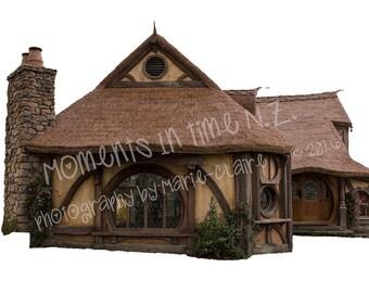 Hobbit-style House Overlay