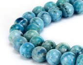 Nice Smooth Hemimorphite Gemstone Round Loose Beads 4mm/6mm/8mm/10mm  Approximate 15.5 Inches per Strand.R-S-HEMI-0026