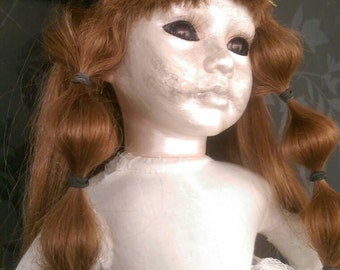 Creepy zombie Dead Scary Porcelain Doll Baby