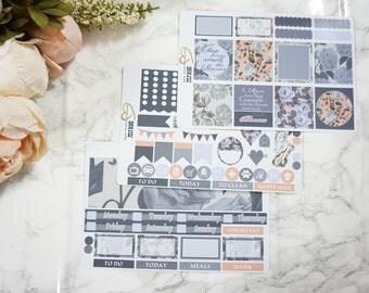 July Rose // Weekly Kit - Erin Condren Horizontal