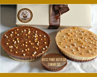Giant Peanut Butter Cups/Peanut Butter Lover/Chocolate Gift/Female/Male/Birthday/Men/Kids/Couples Gift/Anniversary/Nuts/Nut Lover/Dad/Son