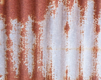 Printable Rusty Sheet Metal Food and Product Background