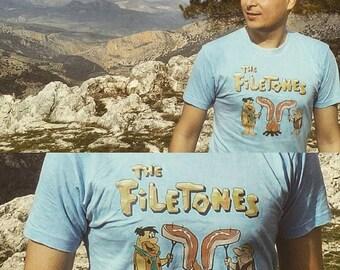 T-shirt female and male Filetones The Flintstones t-shirt