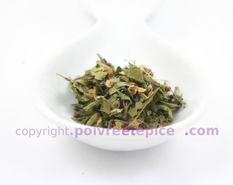 Snowflake of HAWTHORN - HAWTHORN flower and leaf