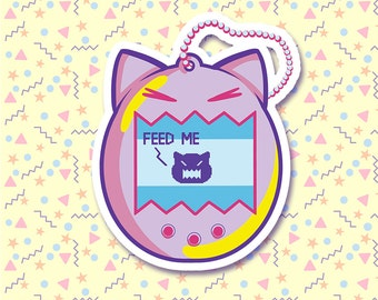 90s Nostalgia - Cute Tamagotchi Sticker