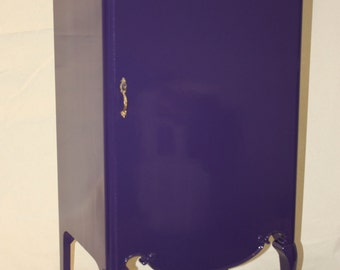 Purple Phonograph Stereo Case Stand