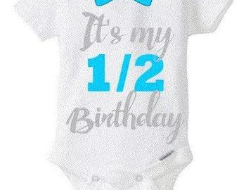 1/2 Birthday Bodysuit