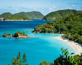 Trunk Bay St. John USVI Photograph, Travel Photography