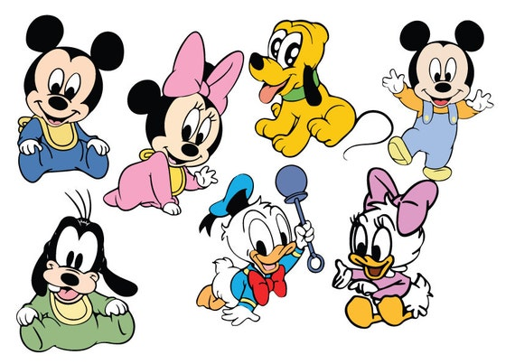 Baby Mickey Mouse And Friends Svg Baby Mickey Mouse And