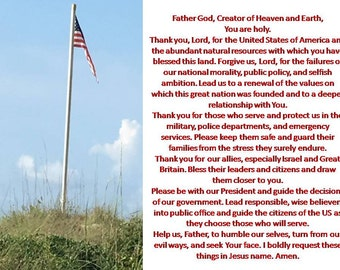 Prayer for the USA, Patriotic Prayer, Patriotic Blessings
