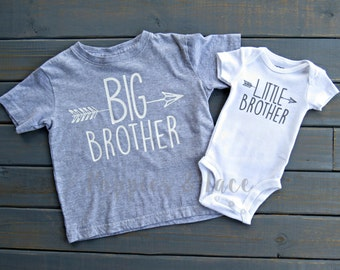 Big Brother Little Brother Shirt Set, Brother Shirts, Sibling Shirts, Coming Home Outfit