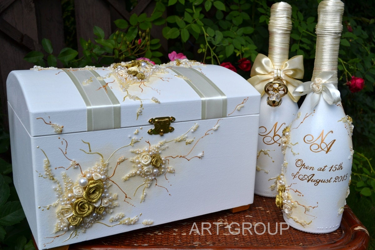 Wedding Cadr Box Wedding Money Box Gift Card By ArtWeddingGroup