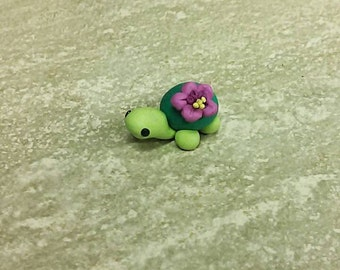 Little clay turtle