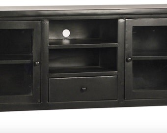 Steel industrial plasma TV unit