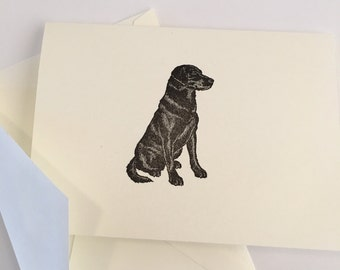 Labrador Card Set of 5