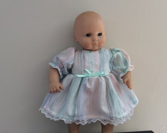 Bitty baby Pastel Dress