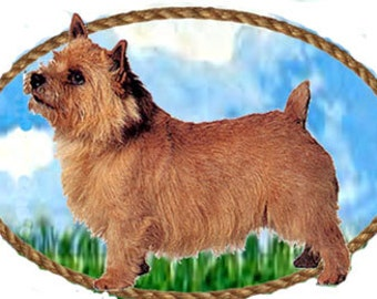 Norwich Terrier Handcrafted Pin