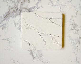 Marble Pattern pocket Mirror -3