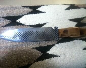 Homemade file knife