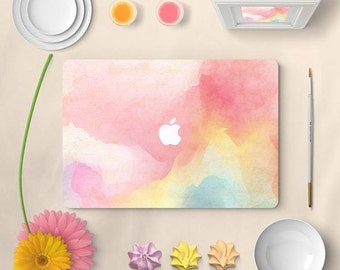 Watercolour macbook skin