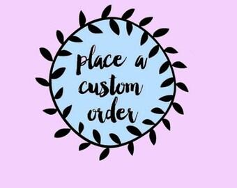 Custom WOMEN!