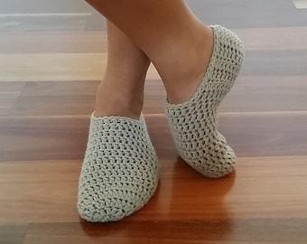 Women's Crochet Slippers / Sockettes / Socks.