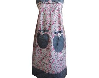 Iramdesigns African Print maxi dress / maternity dress, African long dress