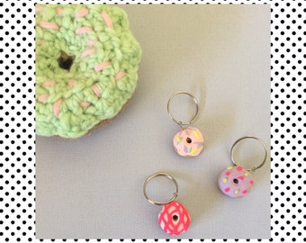 Mini donut keyrings