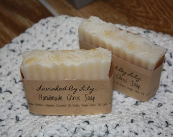 Shea Butter Soap and Washcloth Duo