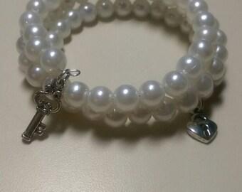 Wrapped Charm Bracelet