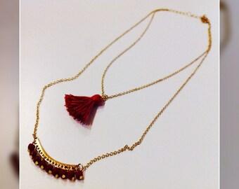 "Necklace ""DOUBLE"""