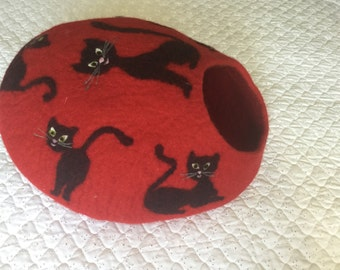 Felted cave