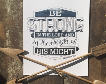 Be Strong - Ephesians 6:10
