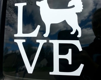 Animal Love Decal