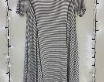 Stretchy Striped Shirt/Dress